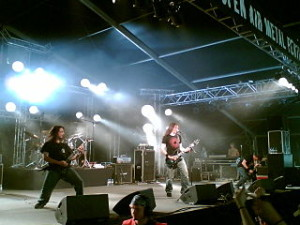 Gojira live in 2006